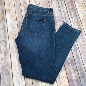 Ann Taylor LOFT Relaxed Skinny Denim Jeans Size 4
